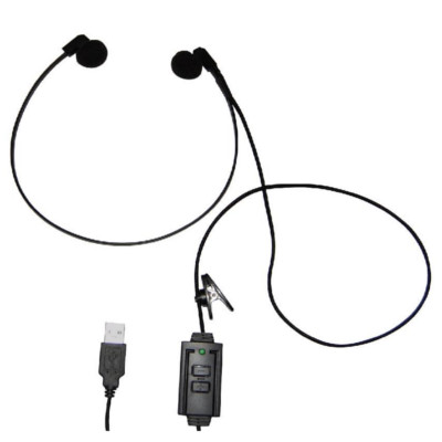 Professional Universal Transcription Headset USB